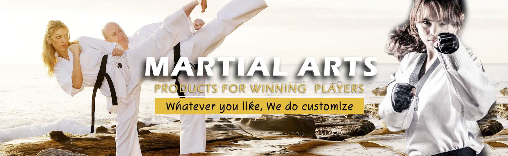 Manufacturers and Exporters of Customized Martial Arts Uniforms