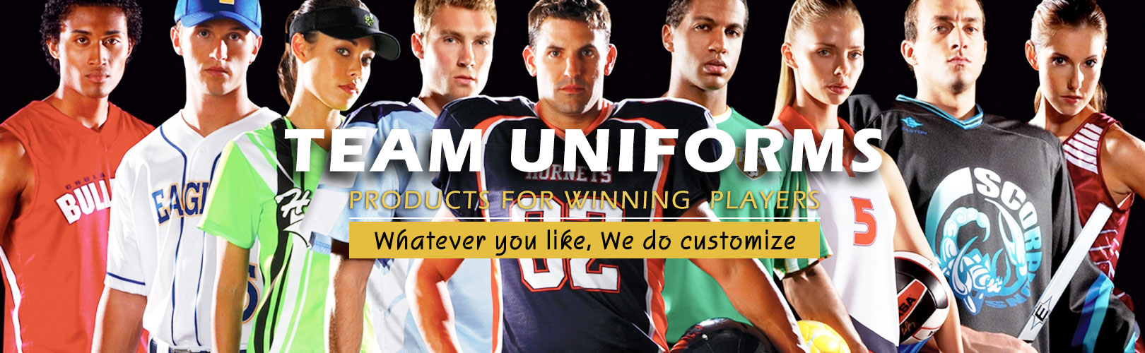 Manufacturers and Exporters of Customized Team Uniforms